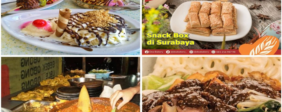 Dea Bakery Snack Box kuliner surabaya