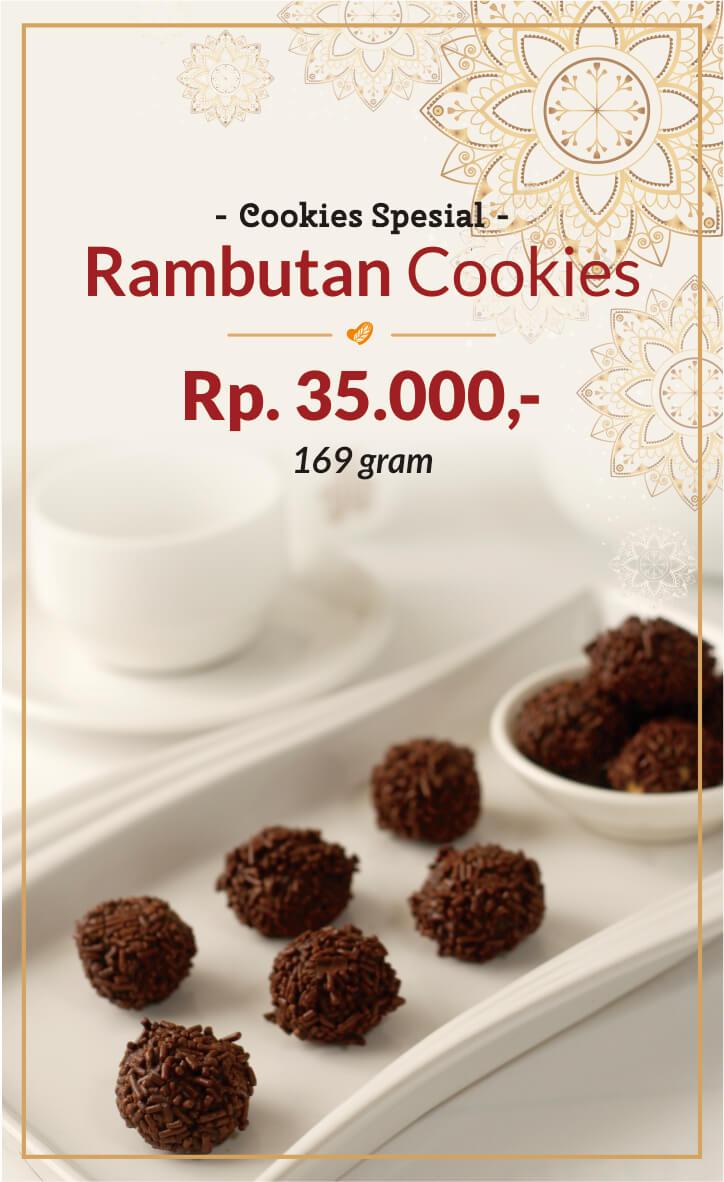 Rambutan Cookies